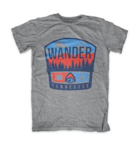 Wander Tennessee Tristar Adventures Mock tshirt