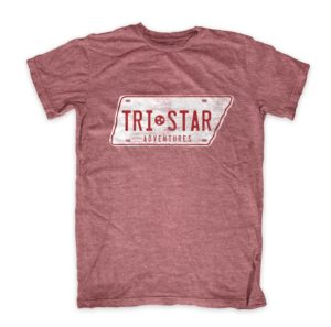 Red Tristar adventures shirt