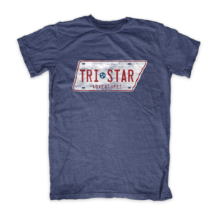 Tristar Liscense Plate Adventures Tennessee tshirt