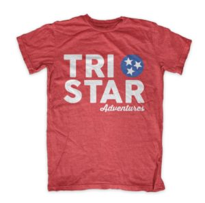 Tristar Adventures Red Tennessee Shirt