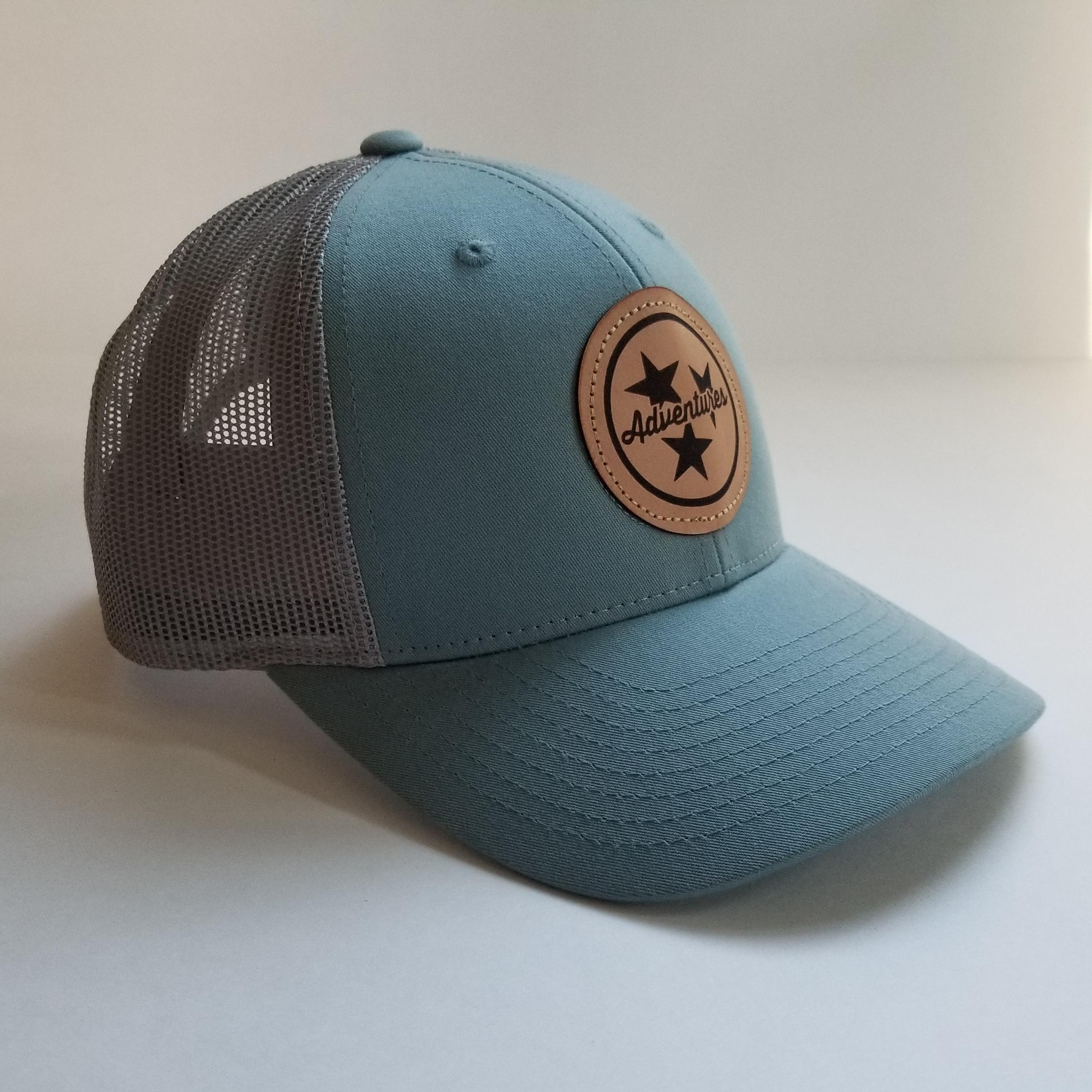 0e64fd3c Tristar Patch Hat [Light Blue] – Tristar Adventures