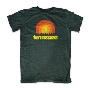Dark Green Vintage Tennessee Tristar Adventures Tshirt
