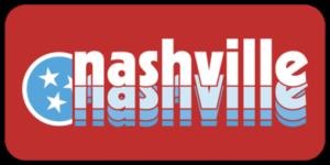 Nashville Tennesseee Retro Decal Tristar Adventures