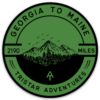 Appalachian Trail AT Tristar Adventures Decal