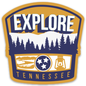Explore Tennessee Static Cling Tristar Adventures