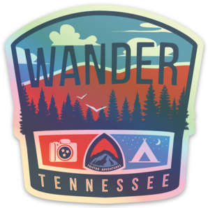 Wander Tennessee Holographic Decal
