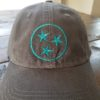 Dad Cap Tristar Adventures Grey Teal Tennessee