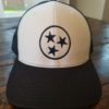 White and Black Tristar Adventures Tennessee Trucker Hat