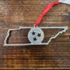 Tennessee Tristar Pewter Christmas Ornament