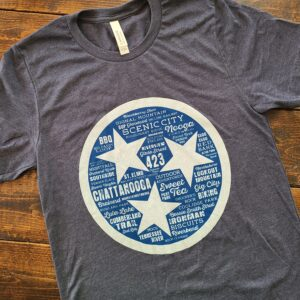 Chattanooga Destination Tristar Adventures Tennessee shirt t tee
